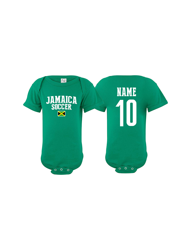 new arrival 7556e 68ad7 Jamaica bodysuit for the soccer world cup Russia 2018 at The Sports Ego