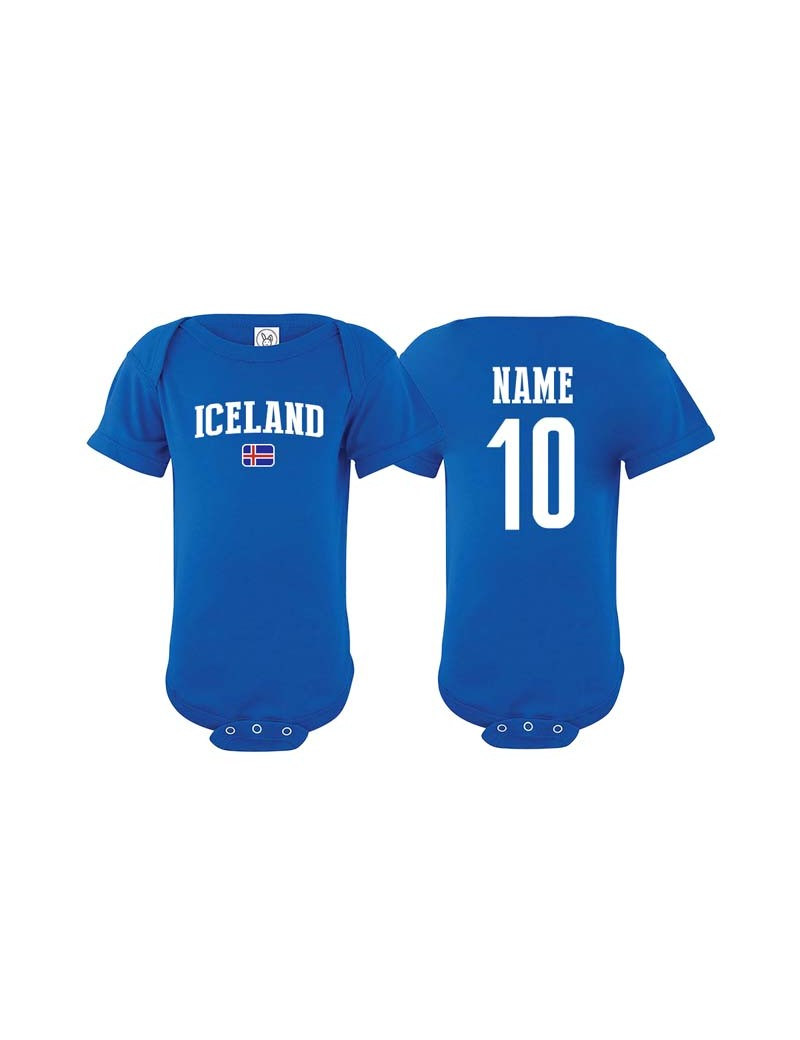 sale retailer d60ad 2ab33 Iceland World Cup Baby Soccer T-Shirt| The Sports Ego