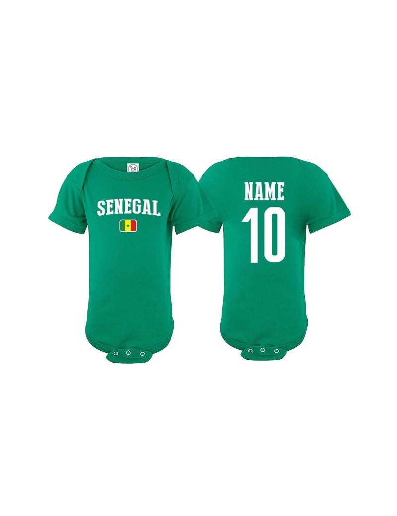 finest selection 8216f cbc48 Senegal World Cup Baby Soccer T-Shirt| The Sports Ego