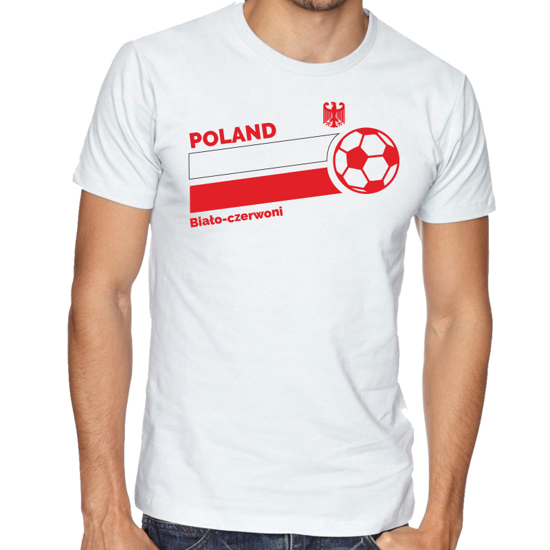 on sale ef656 44f20 Poland T Shirt | World Cup - Country Pride | The Sports Ego
