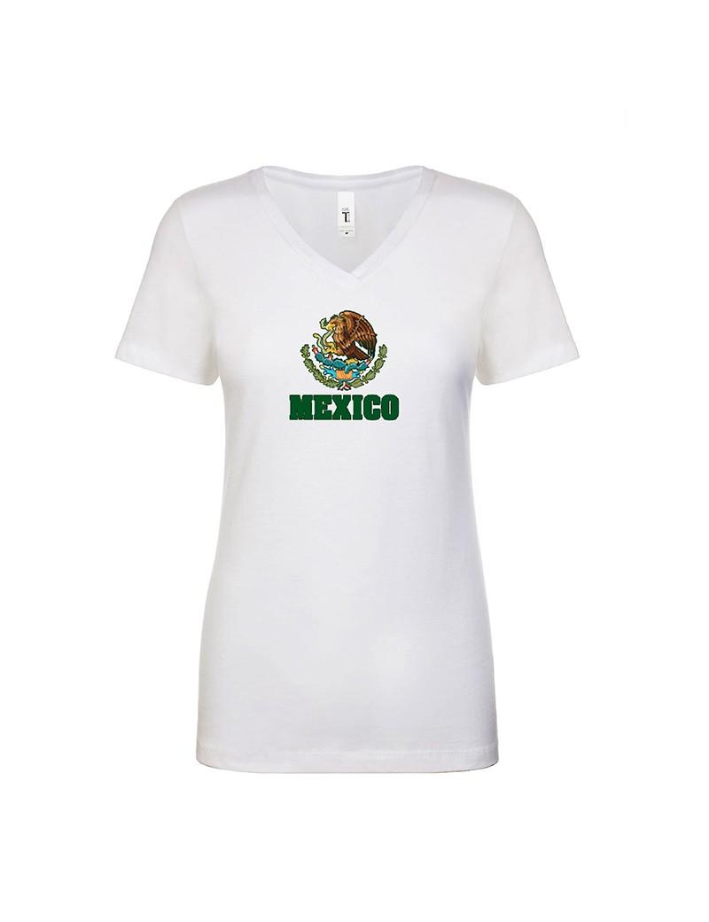 2bbfc26c3 Mexico World Cup Center Shield Women s T-Shirt